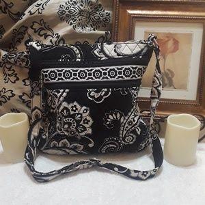 Vera Bradley Flowered Crossbody Bag